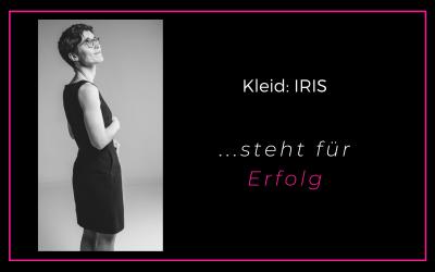 Das Kleid IRIS steht für Erfolg
